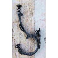 Large Regal Hook - Antique Iron