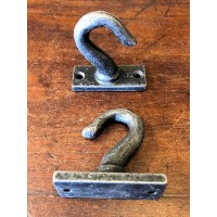 Ceiling Hook - Cast Iron - 50mm - Large Hook