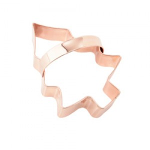 Vintage Design Copper Cookie Cutter -  Christmas Tree