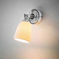 Alma Bathroom Spotlight - Ceramic Shade