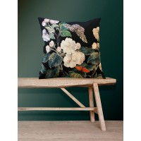 Velvet Cushion 'Apple Blossom' 50 x 50 cm