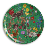 Bambi Round Tray - Nathalie Lété – 46cm Diameter