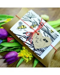 Beebombs - Bee Lovers Gift Pack - Seed-Bombs/Card/Candles