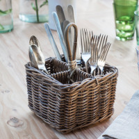 Bembridge Cutlery Holder - Rattan