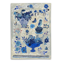 Blue Story – Tea Towel