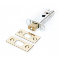 "Heavy Duty Tubular Dead Bolt - 3"" Brass"