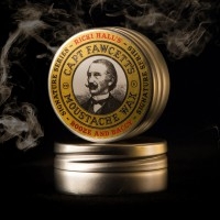 'Captain Fawcett Ltd' - Ricki Hall Booze & Baccy Moustache Wax - 15ml
