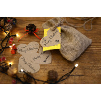 Beebombs - Christmas Tag - Seed Bombs with 18 Native Wildflowers