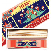 Luxury Long Christmas Match Boxes - PICK UP FROM STORE ONLY