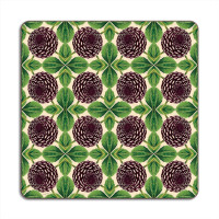 Patch NYC Placemat – Purple Dahlia