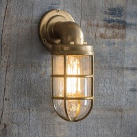 Brass Davenport Down Light