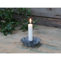 Candle Stick Holder – Antique Zinc