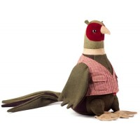 Animal Doorstops - Mr Ringneck the Pheasant.