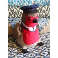 Animal Doorstop - Padraig Robin