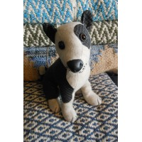 Animal Doorstop - Patch The Bull Terrier