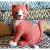 Animal Doorstop - Red Tabby Cat