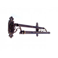 Classic Towel Rail - Double - Antique Brass - Small