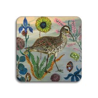 Birds in the Dunes Coaster - Eskimo Curlew