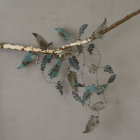 Leaf Garland - Vintage Finish