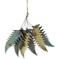 Fern Leaf Bunch - Vintage Finish