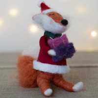 Freddie the Fox  – Felt Decoration