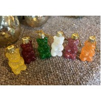 Gummy Bears - Set/6 Assorted