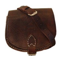 Saddle Bag - Large  - Dark Brown