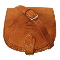 Saddle Bag - Half Moon - Small - Dark Brown Or Tan