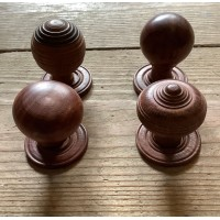 Hardwood Cupboard Knobs - Four Syles Available