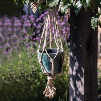 Macramé Plant Hanger for Pot - Jute