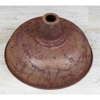 """Kitchen"" Pendant Shade - RUST - 270mm Diameter"