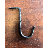 Drive In Beam Hook - Large - Hand Forged - Twist