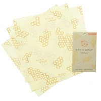 "Bee's Wrap® Set / 3 Large Food Wraps - 13"" x 14"""