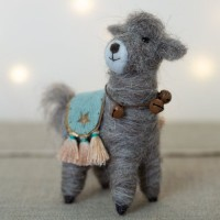 Leonard the Llama – Felt Decoration