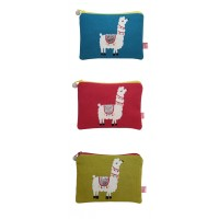 Coin Purse - Llama - 3 Colours Available