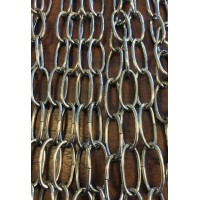 Oval Chain - Chrome Plate - 1 Metre