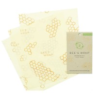 "Bee's Wrap® Set /3 Medium Wraps - 10"" x 11"""