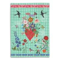 Mon Coeur - Tea Towel - Nathalie Lété - 50 x 70 cm
