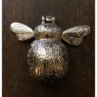Bee Door Knocker - Nickel