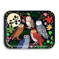 Night Owls - Karen Mabon – 27cm x 20cm