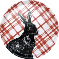 Ary Tray - Sam Pickard - Moorland Rabbit - Circular