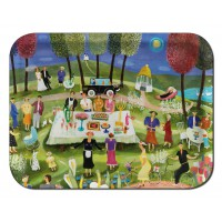 Ary Tray - Bessie Johanson - Summerparty - Rectangular - Small