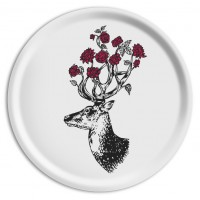 Ary Tray - Puddin'head - Antlers in Chimney - Circular
