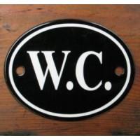 'W.C.' Sign - No 2