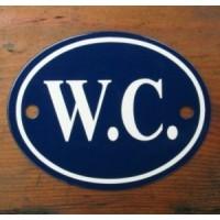 'W.C.' Sign - No 6