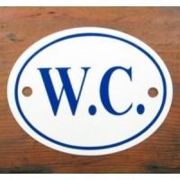 'W.C.' Sign - No 8