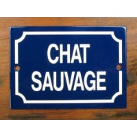 'Chat Savage' - Sign