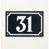 House Number - Landscape - No 1 - Allow 3 weeks For Delivery