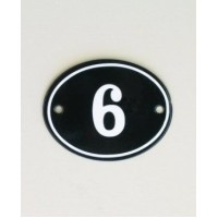 House Sign - Oval - No 1 - Allow 3 weeks For Delivery