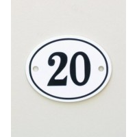House Sign - Oval - No 2 - Allow 3 weeks For Delivery